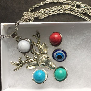 12mm Snap Button Necklace